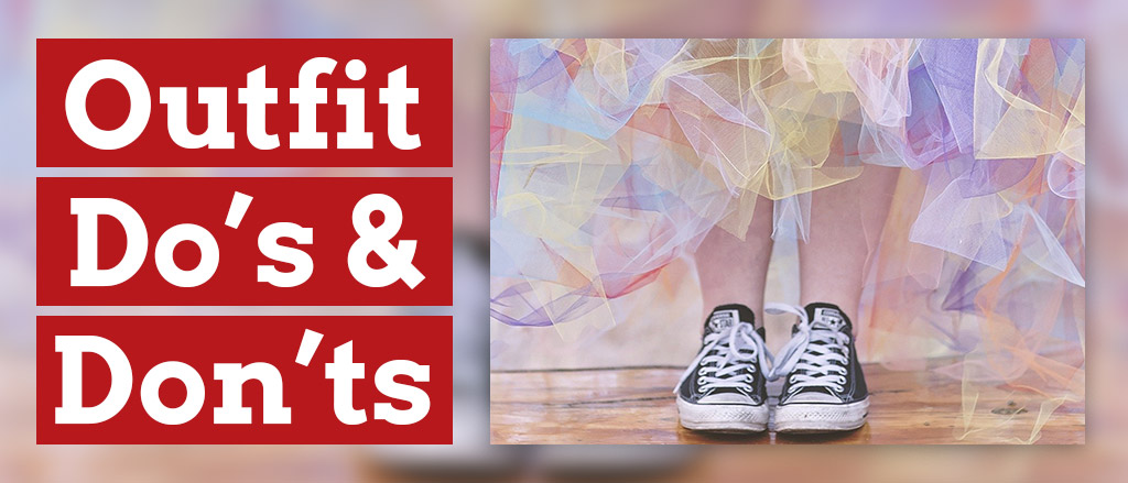 A pair of Converse trainers work with a long tutu skirt